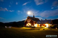 I can look pretty fancy at night! - West Monitor Barn - #VermontWedding