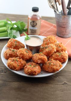 Extremly close to what you'd expect in a restaurant, these little cheesy buffalo chicken bites will be a new favorite for the family. Shared via http://www.ketodelivered.com