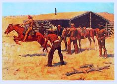 My blog about the Pony Express (picture by Frederick Remington) #ponyexpress