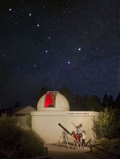 Oregon Observatory at Sunriver - we live in a great place for stargazing, so why not go to the observatory and see the night sky? No smog or light pollution to obstruct your night views, plus the observatory puts on events and presentations.