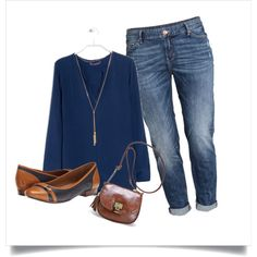 Casual XL by romaosorno on Polyvore featuring MANGO, H&M, Clarks and Avenue