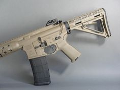 The LWRC IC features ambidextrous controls for the bolt release, sling mount, magazine release, and selector switch.