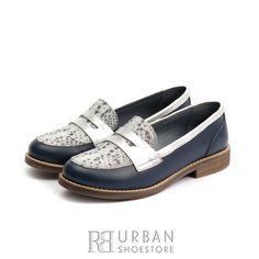 Pantofi dama casual din piele naturala - 188 Blue Box Men Dress, Dress Shoes, Marimo, Blue Box, Loafers Men, Casual, Oxford Shoes, Flats, Fashion