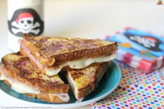 Sándwiches de tostadas francesas by UnaColombianaEnCalifornia.com #HadaPirata