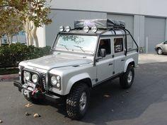 Land Rover Defender.  Custom Build