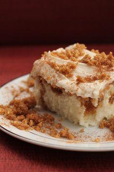 Cinnamon swirl cake.