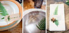 Joseph + Jaime Photography/Coriander Girl // Cambria Grace Photography/Lauren Wells Events // Kurt Boomer/Twine Events Fern Wedding Details   SouthBound Bride #fern #weddingtrends