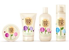 {R Design Studio} Little Me Organics packaging PD