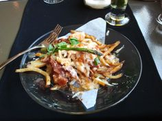 Lobster poutine at Aqua. A delicacy indeed, but not WPEC material.