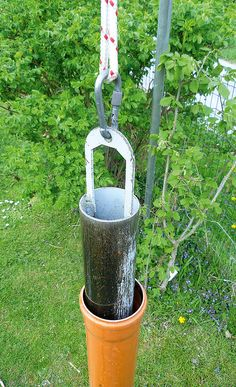 Brunnen bohren DIY Garden Yard Art When growing your own lawn yard art, recycled and up cycled mater