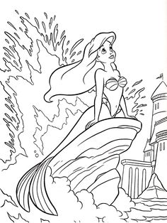 Disney Little Mermaid Coloring Pages. 20 Disney Little Mermaid Coloring Pages. Coloring Pages Of Ariel the Little Mermaid Disney Princess Ariel Coloring Pages, Mermaid Coloring Book, Disney Princess Coloring Pages, Disney Princess Colors, Online Coloring Pages, Coloring Pages For Girls, Disney Colors, Cartoon Coloring Pages, Coloring Book Pages