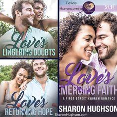 Love's Emerging Faith: Texas Homecoming, Book 3 (First Street Church Faith In Love, Homecoming, Religion, Spirituality, Texas, Romance, Amazon, Books, Movie Posters