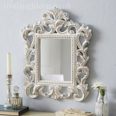 Image result for shabby chic mirrors