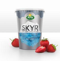 Arla Skyr Yogurt on Packaging of the World - Creative Package Design Gallery