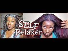 FASTEST WAY TO RELAX/texlax your own hair with a lot of new growth!....the best self relaxer video I have seen on youtube...great tips.