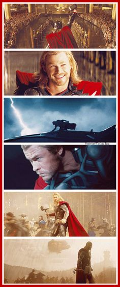 Thor, The Avengers, Thor The Dark World.