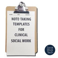 I wanted to share with you something that I have made for myself to use for my clinical practice. It is intended to help me with my documentation via note-taking. I would like to take the opportuni...