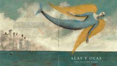 Alas y olas Pablo Albo y Pablo Auladell Mermaid Song, Mermaid Art, Miguel Angel, Art And Illustration, Pablo Auladell, Edward Burne Jones, Art For Art Sake, Sea Creatures, Faeries