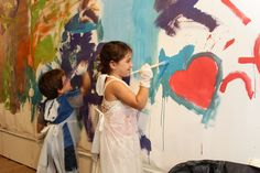 Kids enjoying a painting workshop at the Museum. School Entrance, Painting Workshop, Tel Aviv, Activities For Kids, How To Memorize Things, Museum, Art, Art Background, Children Activities