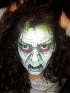 Maquillage Face painting Sorcière Movie Special Effects, Special Effects Makeup, Haunted House Party, Halloween Haunted Houses, Amazing Halloween Makeup, Halloween Make Up, Witch Face Paint, Fx Makeup, Maquillage Halloween