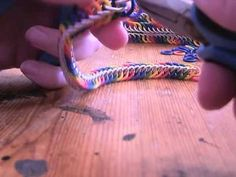Chainmaille - How To start and finish Half Persian 4-in-1 - RAINBOW - YouTube