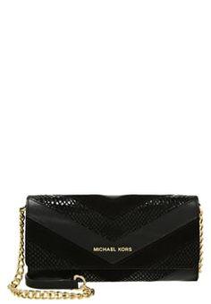 MICHAEL Michael Kors JET SET TRAVEL - Clutch - black £145.00 #ShopSale #prett #DesigerClothing