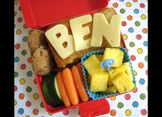 Alphabet Sandwich Bento Box Lunches For Kids : Slow Food USA