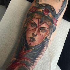 Valkyrie Tattoo by Yonmar #ValkyrieTattoo #Valkyrie #NorseMythology…