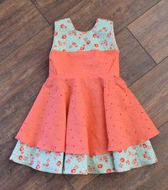 Vestido de primavera Semana Santa por MillyMacCreations en Etsy