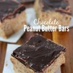 Chocolate Graham Cracker Peanut Butter Bars - Raining Hot Coupons