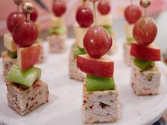 Get this all-star, easy-to-follow Turkey Waldorf Bites recipe from Giada De Laurentiis