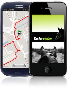 SafeRider app -- lets you track your route, and notifies pre-selected contact when you don't move for a set period of time (i.e. if you fall and become unconscious).