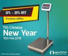 Now, get AKX #PlatformScale that comes with steel tube welded platform & high resolution till 1/15,000 at an unbelievable discounted price! BUY NOW Visit : www.hiweigh.com/product-details/akx-steel-weighing-platform