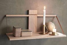ANDERSEN Wood vegghylle  60x25xH32 cm Eik - Andersen Unique - Interiør - Produkter