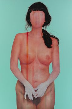 """Plus Gallery, Jenny Morgan, """"All This Time"""", oil on canvas. Figure Painting, Contemporary Paintings, Erotic Art, Collage Art, Illustration Art, Female, Artist Gallery, Portraits, Portrait Paintings"""