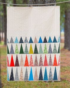 Free pdf Pattern - In the Pines Quilt