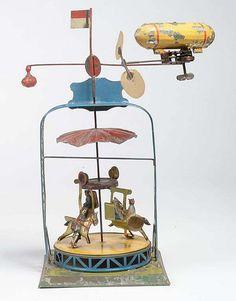 Antique Toy Carousel