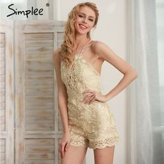 Price $24.49 Simplee Sparkling summer jumpsuit romper Strap floral gold elegant jumpsuit women playsuit Backless hollow out short overalls     Tag a friend who would love this!       Buy one here---> https://www.fashiondare.com/simplee-sparkling-summer-jumpsuit-romper-strap-floral-gold-elegant-jumpsuit-women-playsuit-backless-hollow-out-short-overalls/