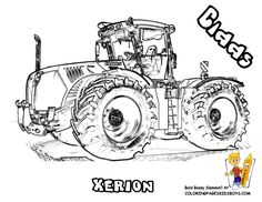 CASE IH - A Farmall coloring page just for you! Happy Monday ... | 182x236