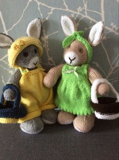 Knitting Projects, Easter Bunny, Teddy Bear, Toys, Animals, Activity Toys, Animales, Animaux, Clearance Toys