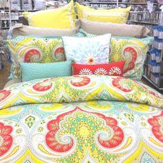 Cute bed spread.