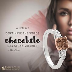 #Chocolate or #Diamonds will always fix anything - so why not mix the two!   #ChocolateDiamond Australian