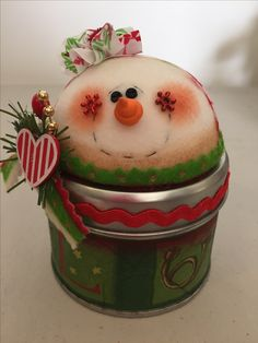 Snowman Decorations, Snowman Crafts, Christmas Projects, Holiday Crafts, Holiday Fun, Christmas Decorations, Christmas Ideas, Diy Felt Christmas Tree, Christmas Snowman