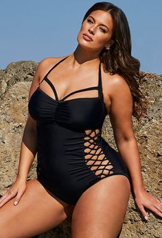 Buy Ashley Graham x Swimsuits For All Boss Underwire Swimsuit at SwimSuitsForAll.com. Easy returns and exchanges. Check out our special swimsuit sale of the day!