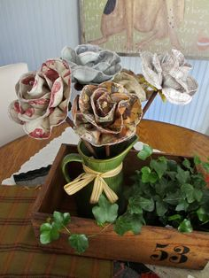 One Lucky Day: Fabric Flowers