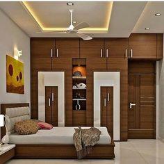 Indian Bedroom Design, Indian Bedroom Decor, Ceiling Design Living Room, Bedroom Cupboard Designs, Bedroom False Ceiling Design, Wardrobe Design Bedroom, Bedroom Closet Design, Bedroom Furniture Design, Modern Bedroom Design