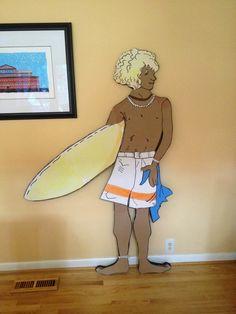 Margaritaville Party Plane, Surfer Van, Surfer Dude, and Fake Beach Props Margarita Party, Planes Party, Surfer Dude, Van, Clip Art, Princess Zelda, Beach, Fictional Characters, The Beach