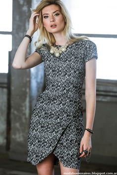 Moda otoño invierno 2014 Markova vestidos 2014