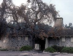 May 1985 After Fire Architect: Myron Hunt; Digital History, Pasadena California, Digital Archives, Fire, House Styles, Outdoor, Outdoors, Outdoor Games, The Great Outdoors