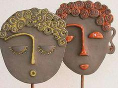 Most current Photos Slab pottery jewelry Popular Skulptur von Öl Clay Art Projects, Clay Crafts, Kids Crafts, Diy And Crafts, Simple Crafts, Felt Crafts, Slab Pottery, Ceramic Pottery, Pottery Art